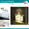 Aluminum Square LED Light Box advertising display