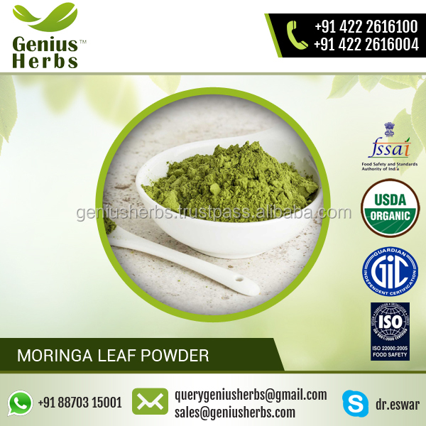 Top Quality made Organic Moringa Leaf Powder for Bulk Buyers