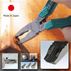 Convenient plier for broken screw with side cutter made in Japan
