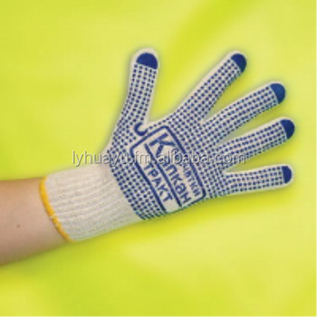 480grams 7GG cotton knitted gloves