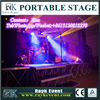 New products portable dj stage portable stage and catwalk stage portable stages kid
