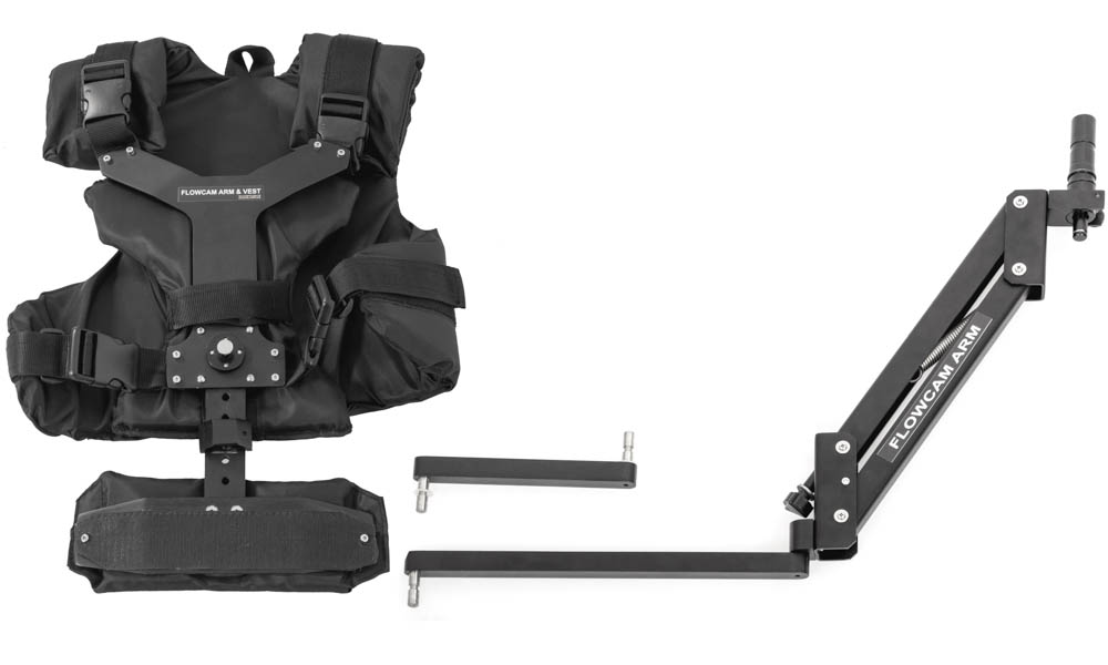 FLOWCAM ARM & VEST FOR FLOWCAM1000,2000 HANDHELD STABILIZER,GLIDECAM and STEADICAM Jr. HAND HELD STABILIZERS