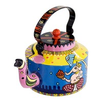 Fortune Lord Hand Painted Kettle