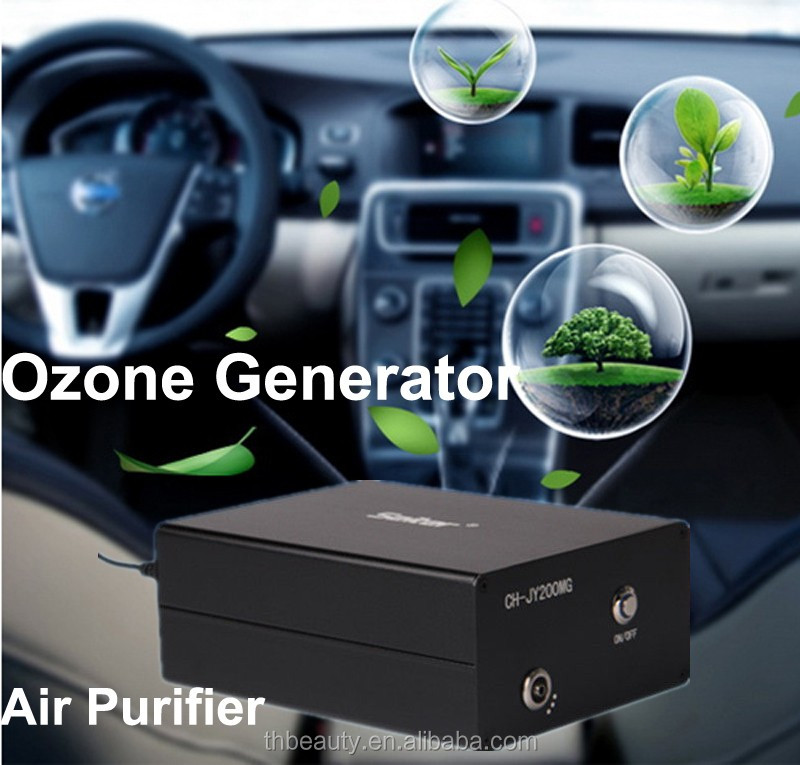 ozone machine car smell