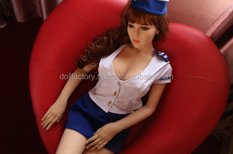 Japanese 18 Girl Lady Plastic Woman Lifelike Silicone Sex Doll for Men Real Sex Toy 158cm Mature Lady Stewardess Girl Horny Sex