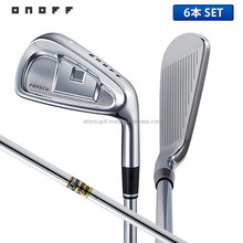 [2015 golf iron set] ONOFF Golf FORGED IRON KURO Iron Set 6 pcs (5-P)Dynamic gold steel shaft