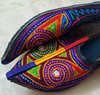 Blue color Embroidery Juti shoes -Punjabi style khussa Shoes-Indian woman Chappal Wholesale-handmade ethnic Beaded Mojari