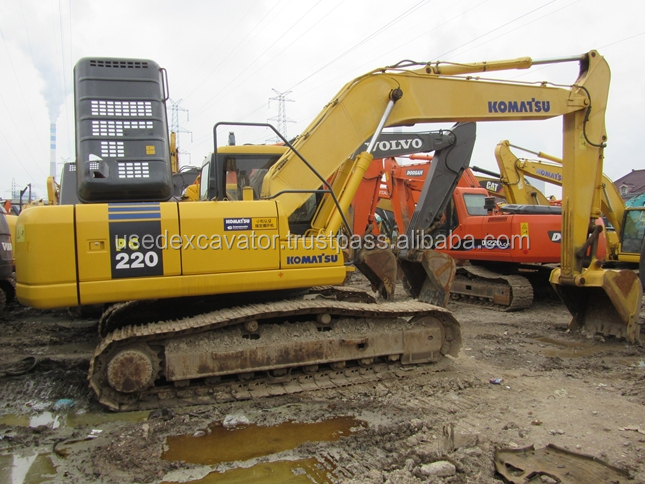 second-hand/used excavator pc200-7 cheap Komatsu for sale. and have pc200-6, 200-8, pc220-7,pc220-6, pc220-8 cheap for sale