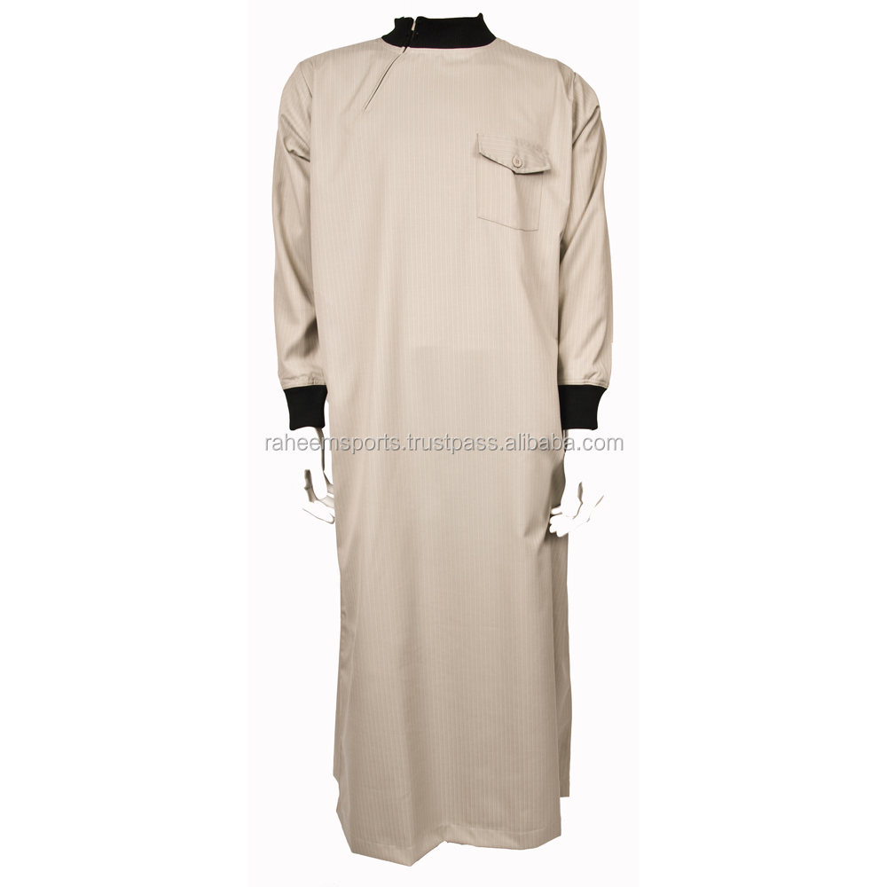 2015 Muslim men clothing with good finishing at factory wholesals price