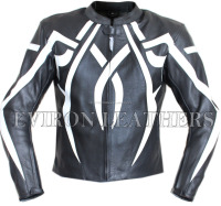 Eviron X Motorbike Protective Leather Jacket