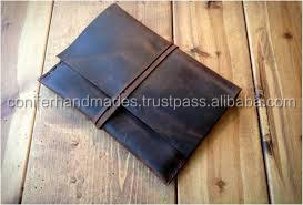 custom made buffalo leather tablet covers available with custom logo embossing suitable for gifting
