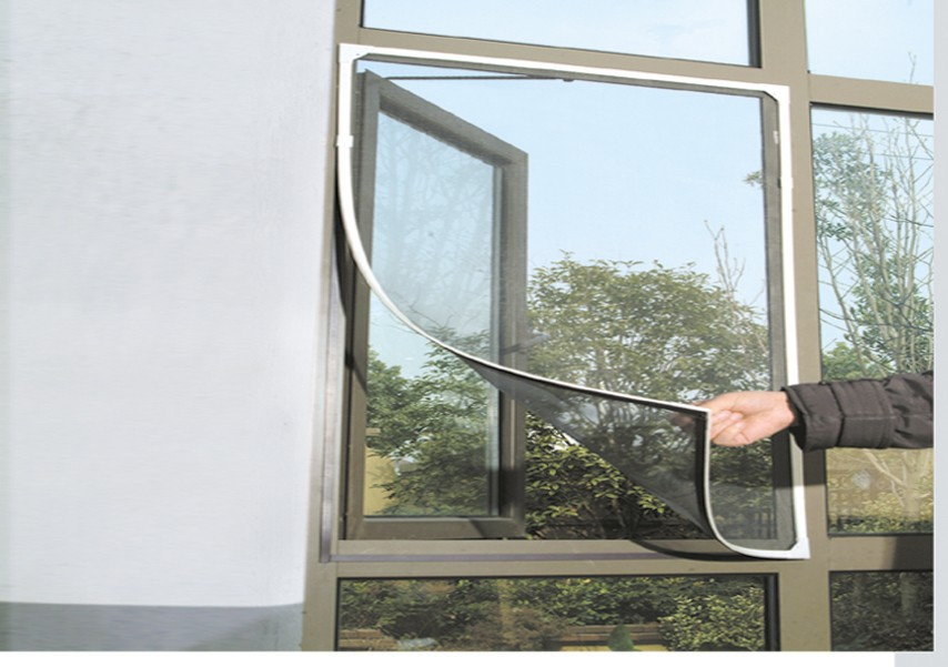 Magnet fly net window