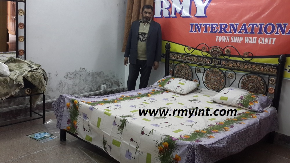 Pakistani RMY 055 high quality linen bed sheets