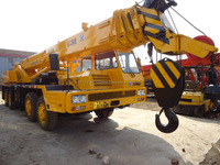Used XCMG QY50B 50 ton truck crane in good condition for sale