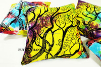 Tie Dye cushion covers bulk Tree of Life Printed Handmade pillow cover cushion cover wholesale