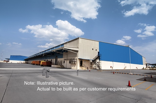 Warehouses on lease from 25,000 sq ft to 2,00,000 sq ft