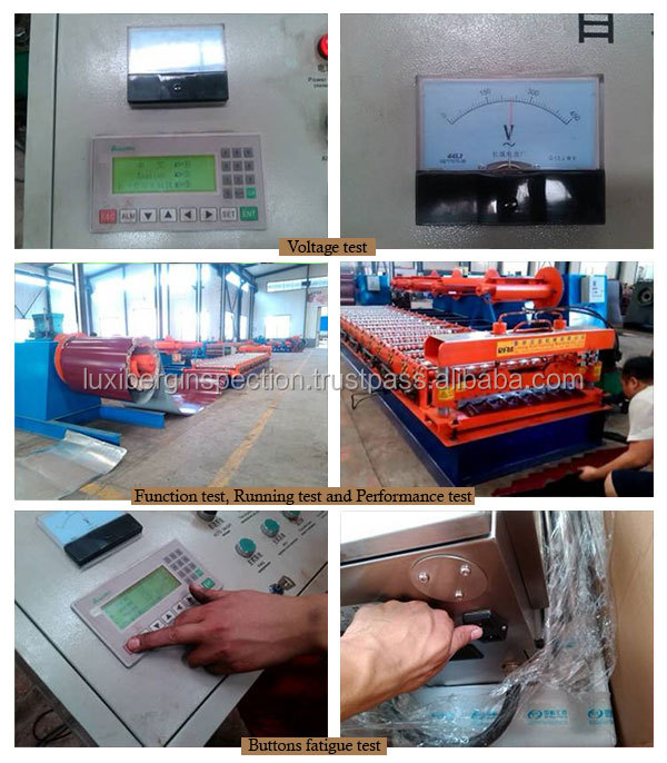 Machinery Professional QC Inspection / Roof Forming Machine Final Quality Inspection / Experienced Inspection / Sample Report