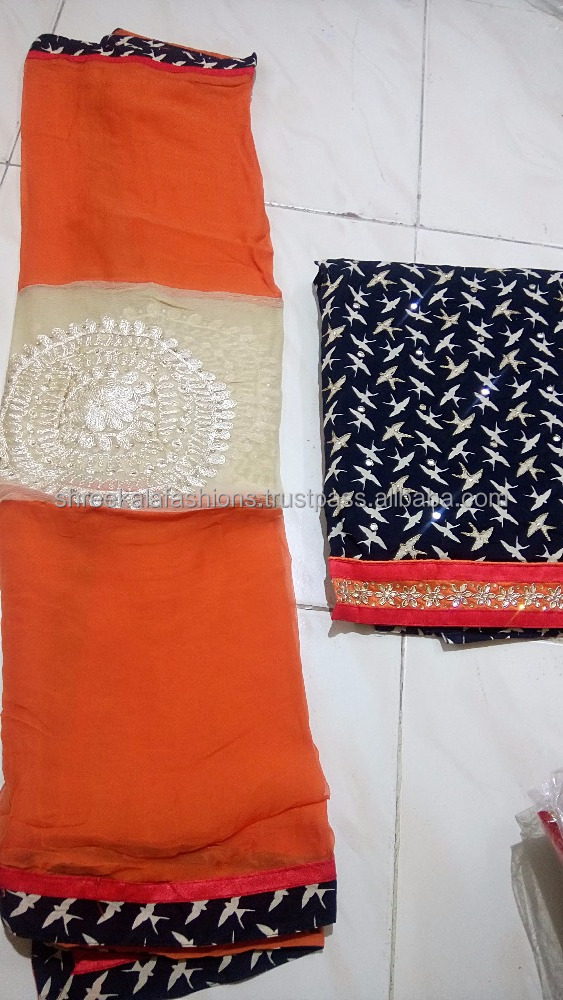 Hiquality designer cotton dressmaterial with pure chiffon dupatta