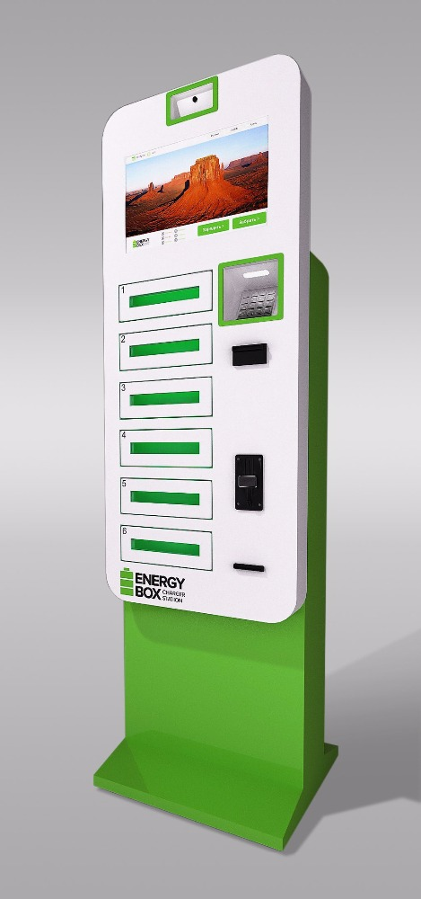 Mobile Phone Charging Station EnergyBox