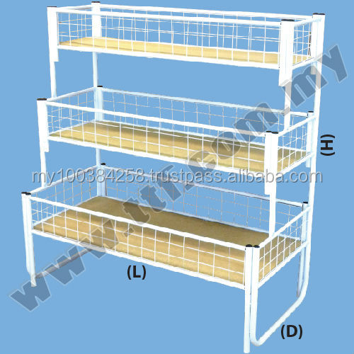 Offer Bin 3 layer, Offer Bin 1 layer, Offer Bin 2 layer, Wire Basket, Wire Mesh Basket, Metal Basket, Mesh Basket, Basket, Rack