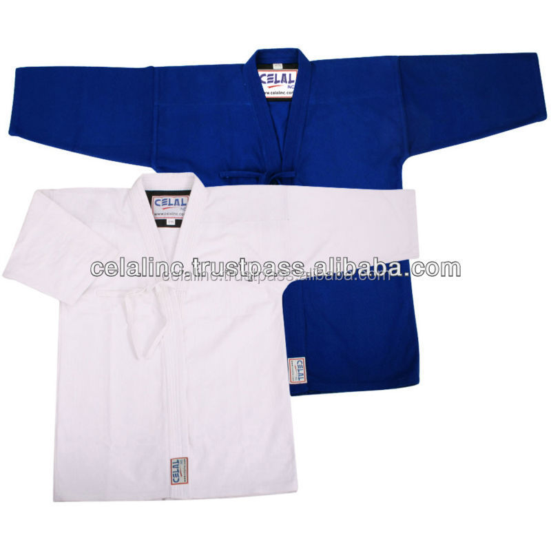 Blue and White Kendo Jacket, Aikido Jackets
