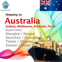 Container Shipping from Shanghai Ningbo Shenzhen Guangzhou China to Sydney Melbourne Brisbane Fremantle Adelaide Australia