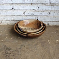 Wholesale teak plate set 3