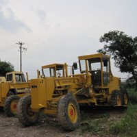 Used Komatsu GD511 motor grader,cheap GD511 grader for sale in Shanghai