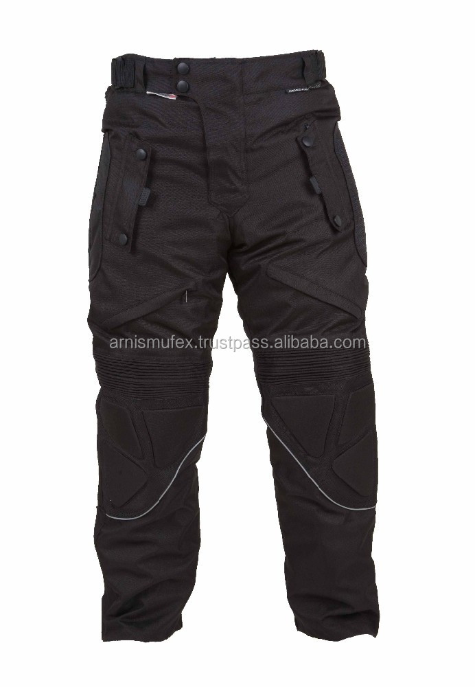 Motorcycle Kevlar Cordura Pant With CE Protection