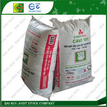 Packing animal feed PP woven bag
