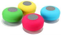Water Resistant Mini Portable Shower Bluetooth Speaker with Sucker for Mobile Phone