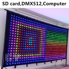 LED Video Wall/Soft Flexible LED Curtain for Stage Lighting