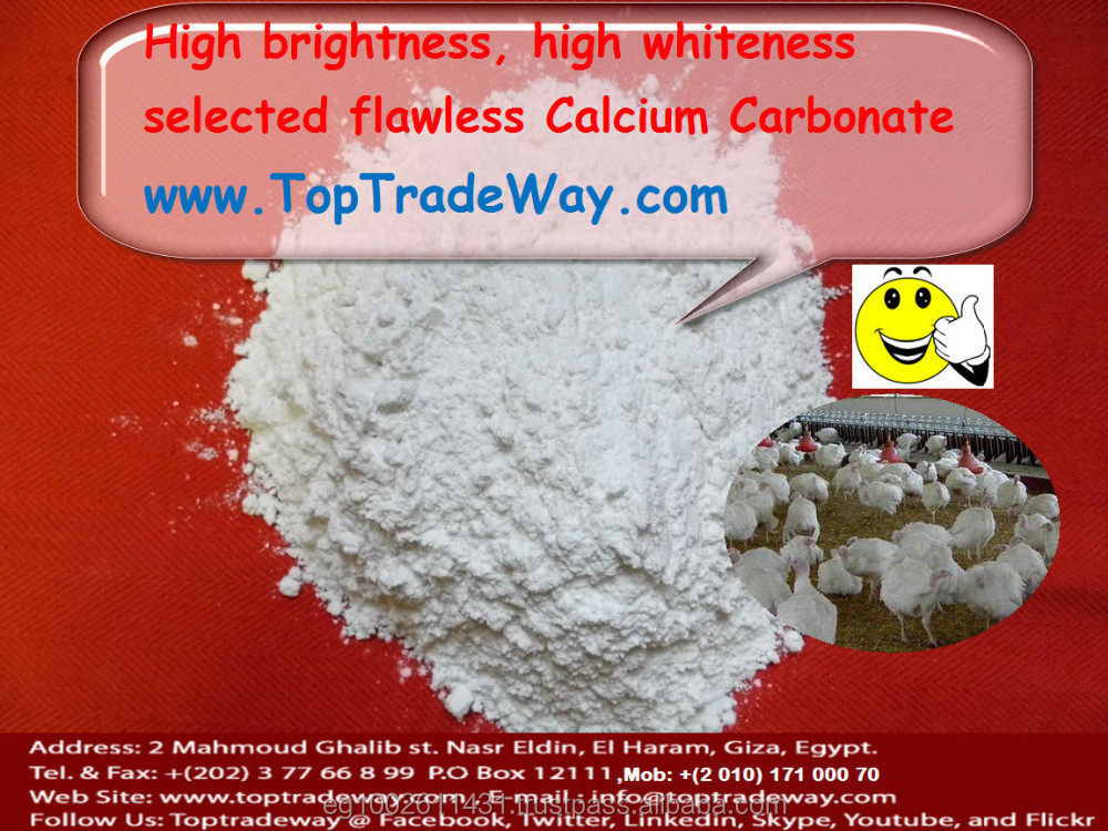 High White Calcium Carbonate Powder