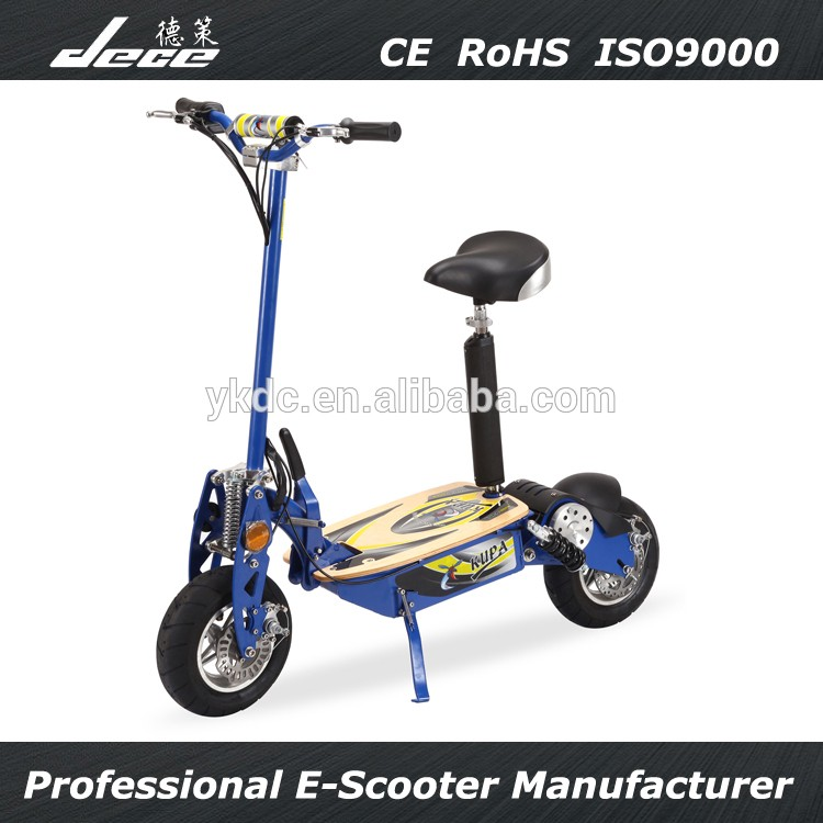 48V 12AH 1500W Adult 2 wheels electric standing scooter with 12'' wheel