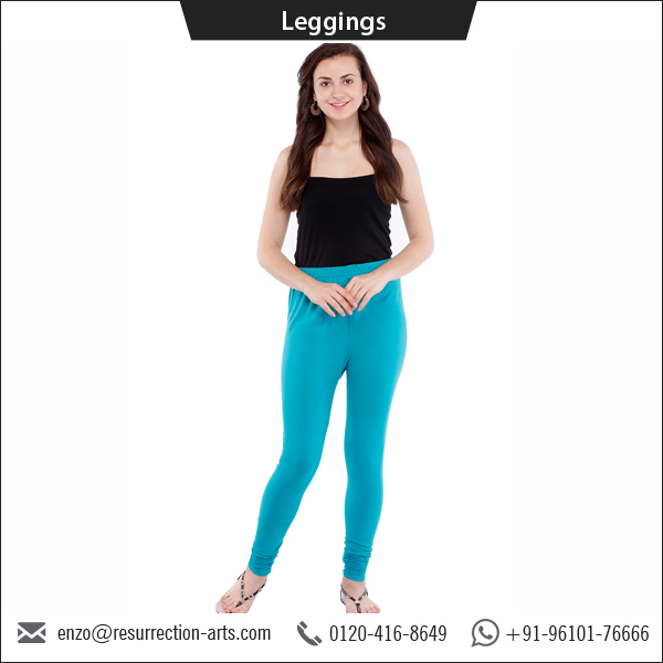Top Manufacturer of 100% Cotton Tight Churidar Leggings for Women