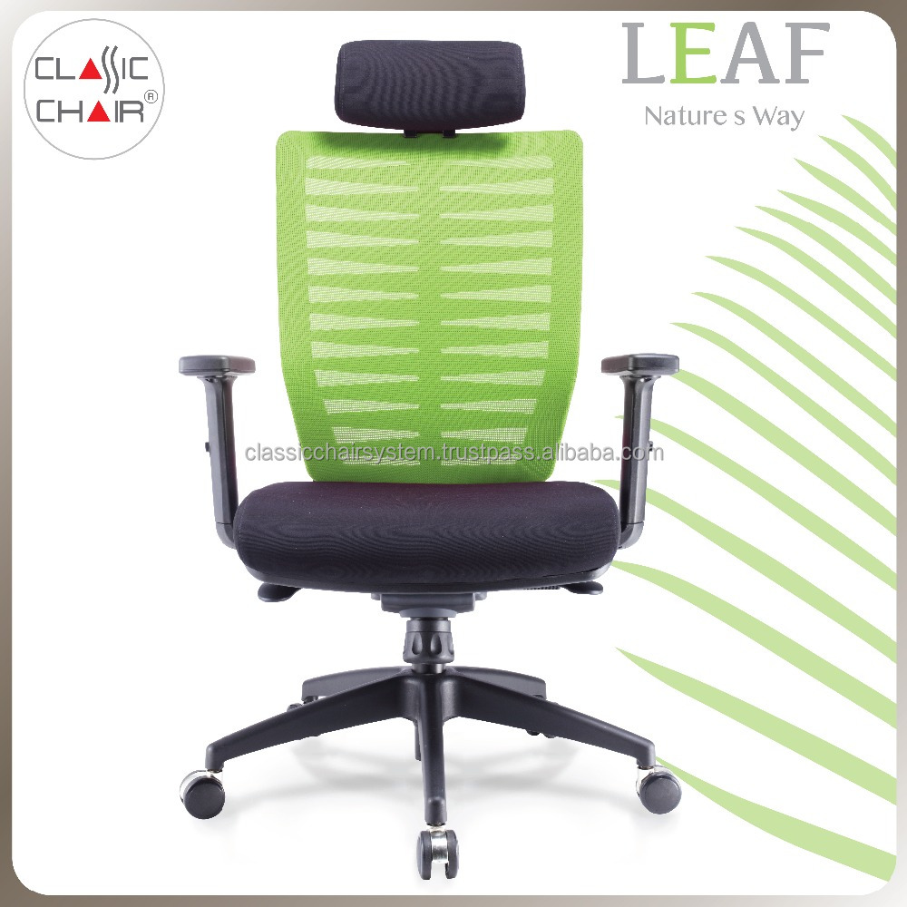Executive Mesh Office Chair with Unique Backrest, Office Furniture Malaysia