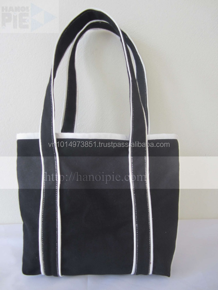 high quality Cotton shopping bag canvas tote bag for promotional with custom printing