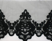 net design Embroidery lace