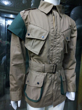 WWII US M42 AIRBORNE JUMPSUIT JACKET ALL SIZE COTTON WORLD WAR 2 REPRODUCTION