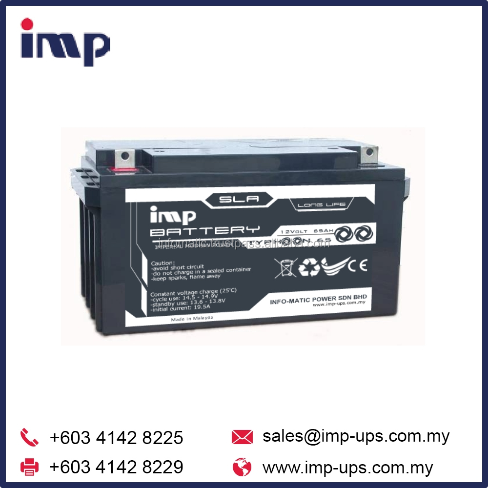 IMP Typhoon Uninterruptible Power Supply (UPS) Dry Battery from Malaysia
