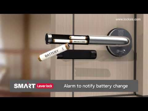 ??? LOCKSIS - Electronic SMART Lever Lock 2014 - Keyless Digital door lock - Smart door lock
