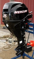 USED MERCURY 25 HP 4-STROKE OUTBOARD MOTOR