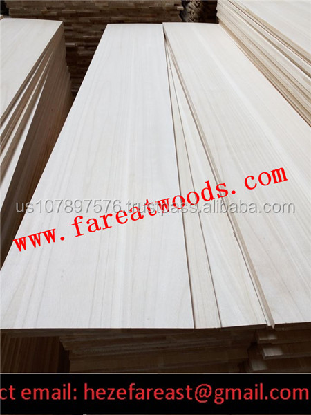 paulownia jointed board factory supply