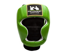 Boxing Artificial Leather & Head Guard