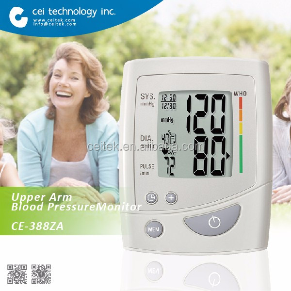 Health and Medical CE approved handheld medical devices upper arm blood pressure monitor