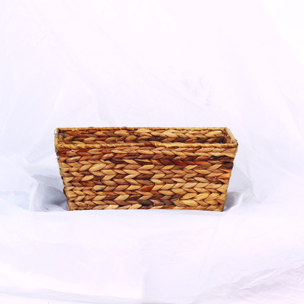 Wholesale natural shallow rattan basket tray for sale
