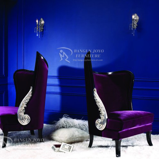 Arabic luxury style hotel lobby best price Chesterfield Wing Chair High Back