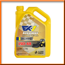 EX-1 Hydraulic Oil ISO 68 5L [Advanced Anti wear, Industrial Oil, Super, High, Premium Quality, Virgin Base Oil]
