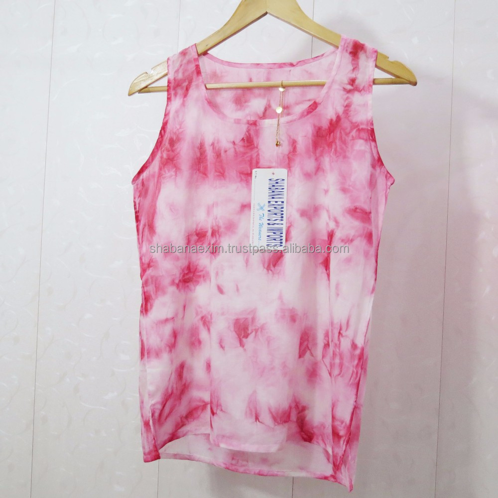 Tops for Women 2016 Tank Top tie dye clothes lace blouse