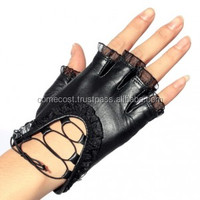 Women Winter Leather Gloves for Driving Car Made in Pakistan